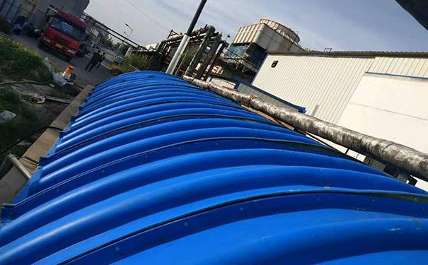 膜结构污水处理加盖