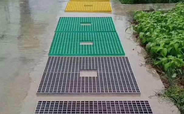 防雨防滑玻璃钢格栅板地板