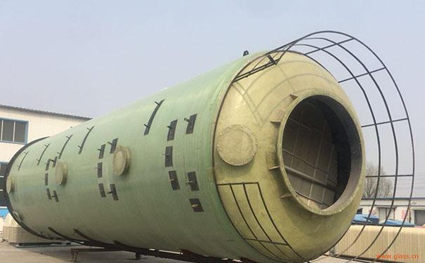 北京玻璃钢脱硫塔法兰厂家现货